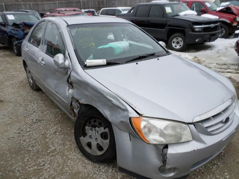 2006 kia spectra5 lights headlamp assembly right sdn  4 dr   ex  r  114 SILVER,LOCAL FADED