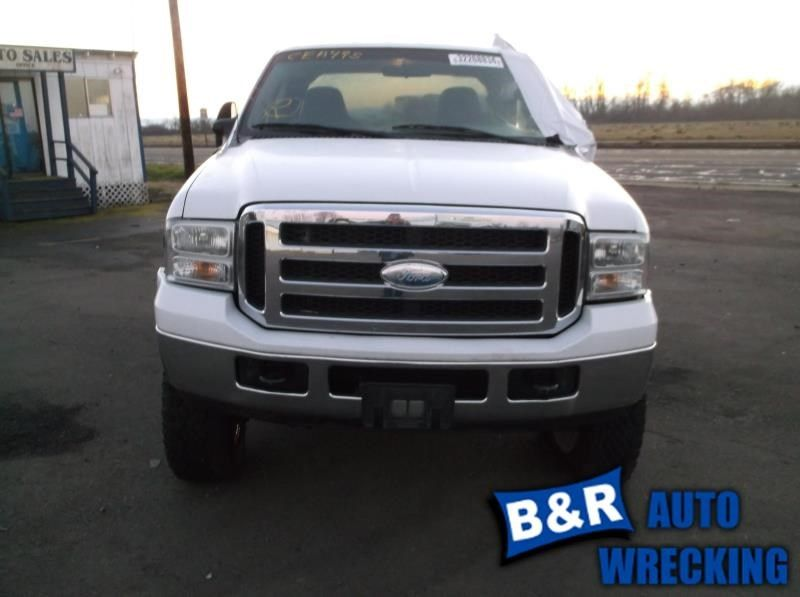 2005 Ford Truck Ford F250sd Pickup Interior Front Seat Belts Bench Seat Split 40 20 40