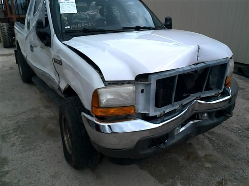 2001 ford ford f550sd pickup electrical chassis control module multifunction  lower lh of dash  4x4 id f81b 14b205 fb 591 V10,4X4