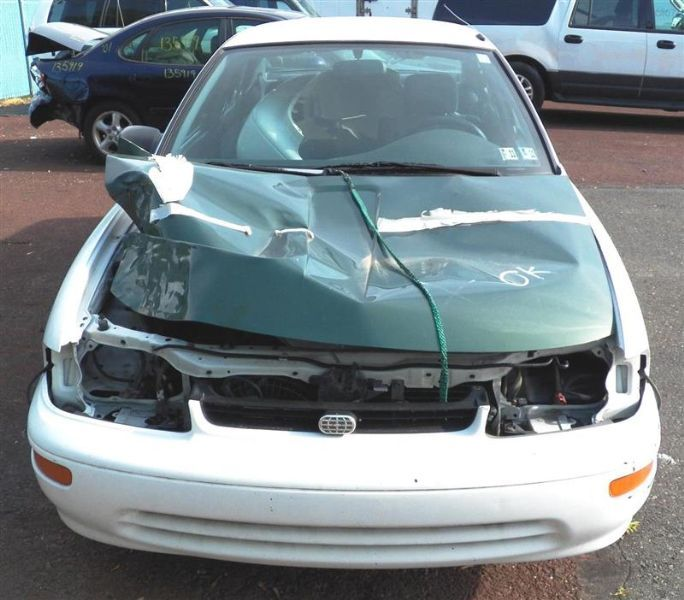 1993 general motors   foreign geo-prizm doors geo prizm door assembly front 120 LF MNL WHITE NO MIR OUTER HANDLE NG