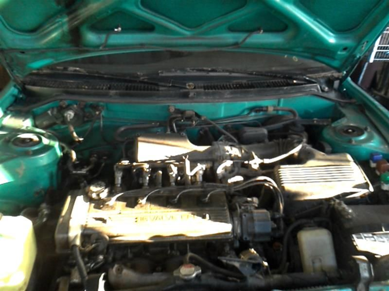 1993 general motors   foreign geo-prizm doors geo prizm door assembly  front    120 000,LH,GRN,4DR,MW,ML,PM,03/93,LSI