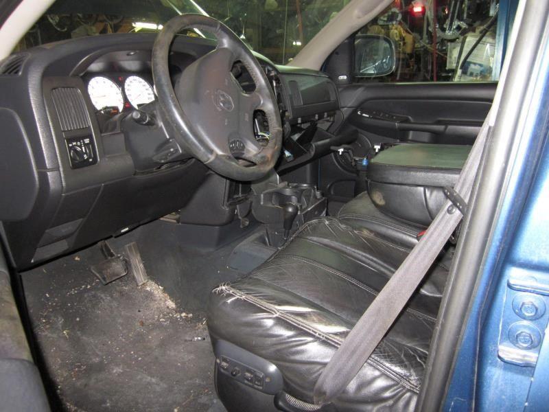 2002 Dodge Truck Dodge 3500 Pickup Interior 210 Front Seat Belts