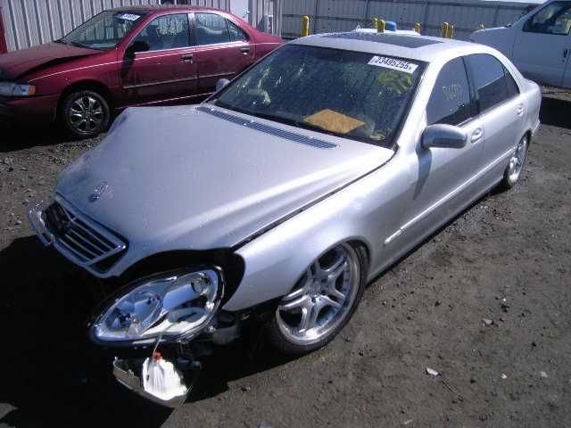 Used 2002 mercedes benz s430 suspension steering s430 for Mercedes benz suspension parts