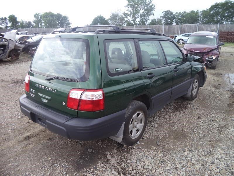 2002 Subaru Forester Glass And Mirrors Interior Rear View Mirror Interior Rear View Mirror