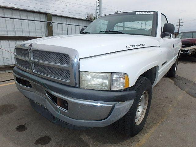 Used 2001 Dodge Truck Dodge 1500 Pickup Interior Front Seat Belts