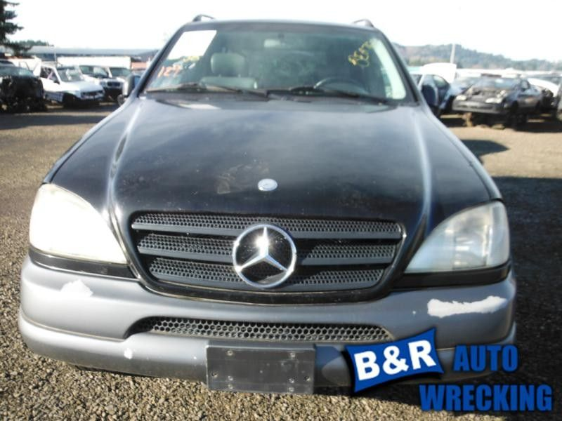 2000 mercedes-benz ml320 front body bumper reinforcement  front 163 type  ml320 and ml430 and ml55  107 4DR4X4