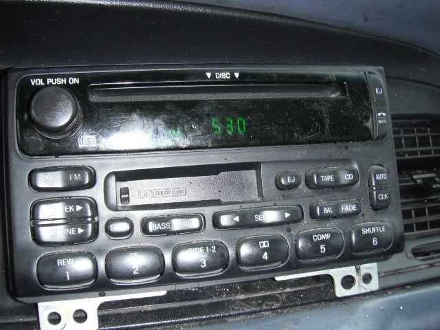 1997 ford truck ford f150 pickup engine accessories starter motor 8 280  4 6l   id f7uu 11000 aa |  604 4-Police,WHT,4.6,AOD