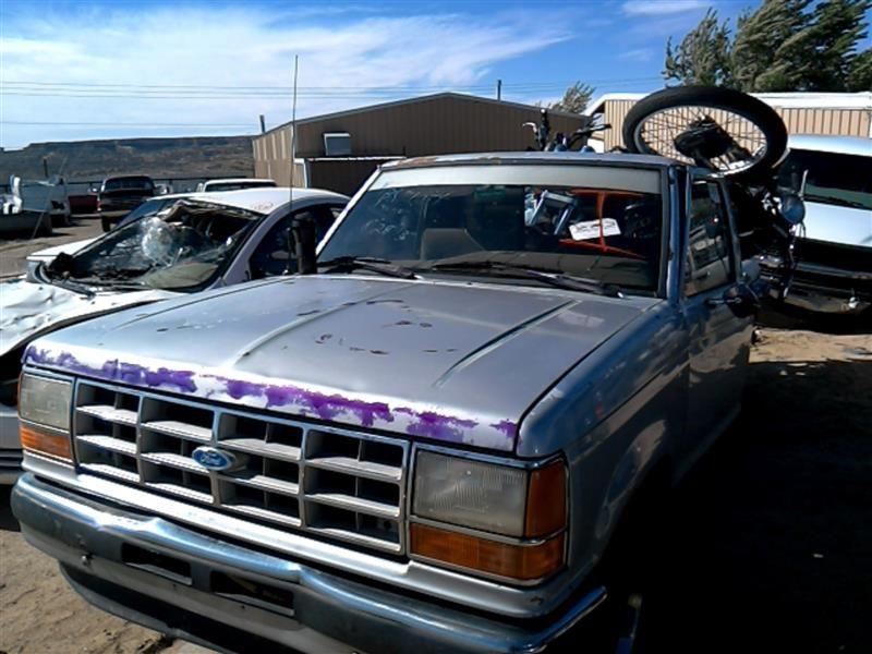 1990 ford truck bronco-ii suspension-steering bronco ii steering column 238 GRY,NO TILT,MT,NO TILT,NOKEY
