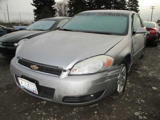 2006 chevrolet impala rear-body impala quarter panel assembly |  160 SIL,LTZ,5P2,RP