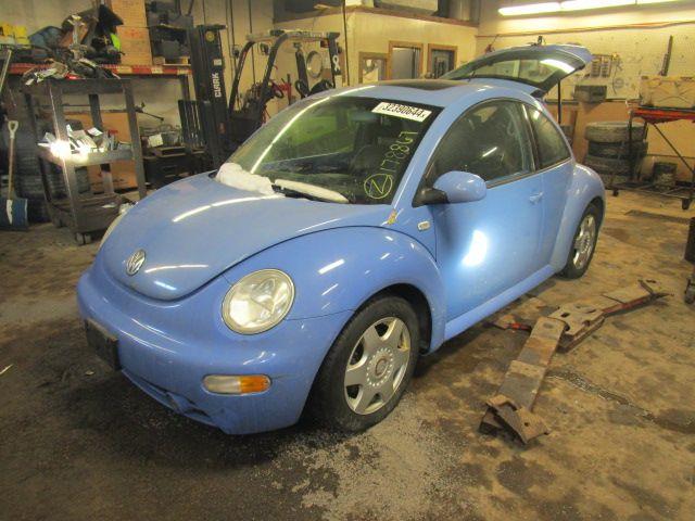 Used 2001 Volkswagen Beetle Front Body Radiator Core Support Htbk