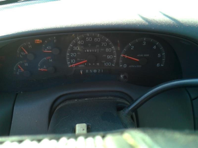1997 ford truck ford f150 pickup engine accessories fuel pump pump assembly  6 255  4 2l   4x2  thru 2 4 96  6 1 2' box |  323 4.6,PUMP ASSEMBLY, 6-255 (4.2L), 4X