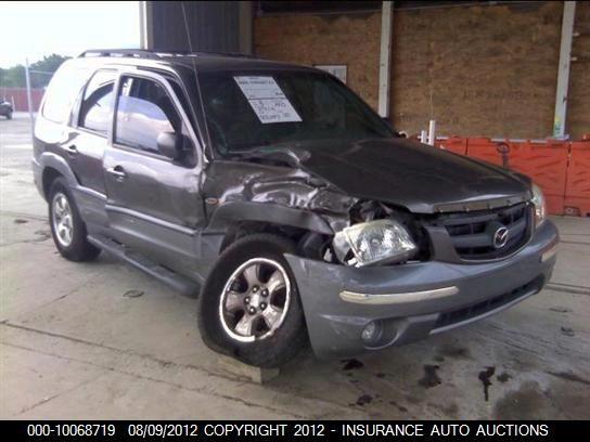 2001 mazda mazda-tribute rear-body mazda tribute bumper assembly  rear 190 Bronze,see details
