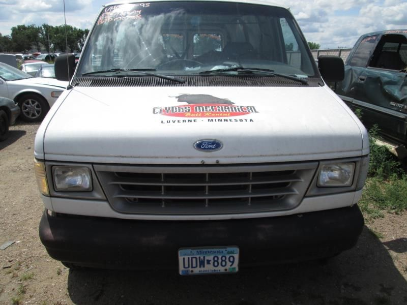 1995 ford truck ford f150 pickup electrical alternator 6 300  4 9l   95 amp |  601 WHITE,CHK AMP