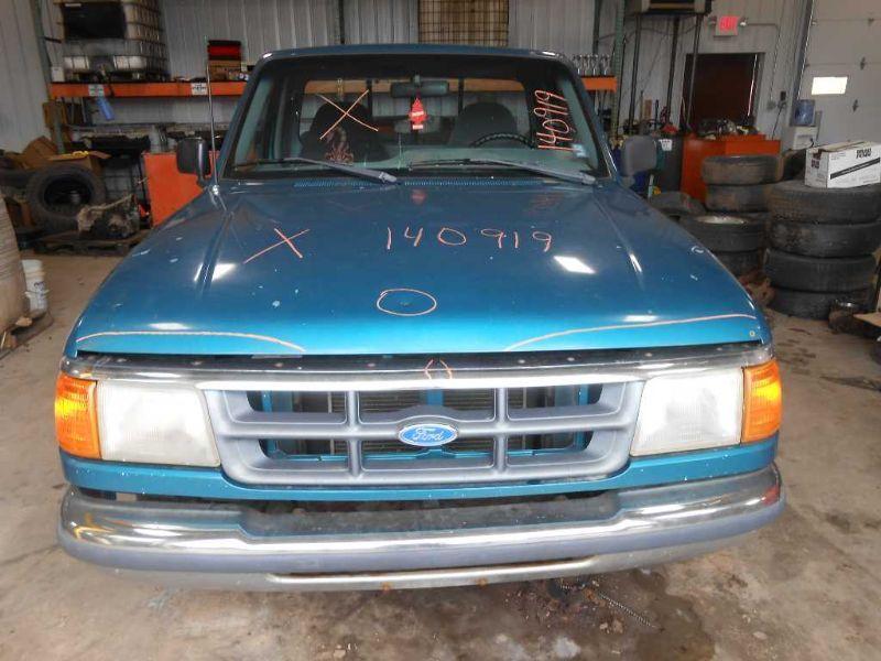 1990 ford truck bronco-ii suspension-steering bronco ii steering column 238 BLACK,W/KEY,FLOOR SHIFT