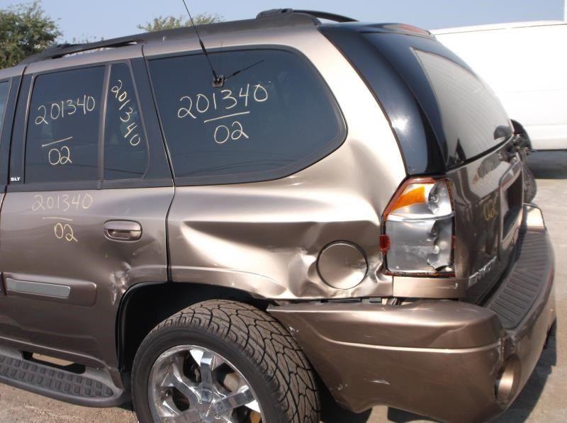 Used 2002 Gmc Truck Envoy Rear Body Decklid Tailgate 113