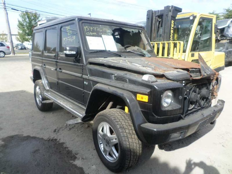 Used 2003 mercedes benz mercedes gclass entertainment for Mercedes benz parts near me