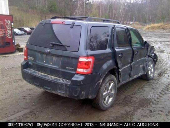 2008 2012 Ford Escape Passenger Rear Window Glass Privacy 1404269 Ebay