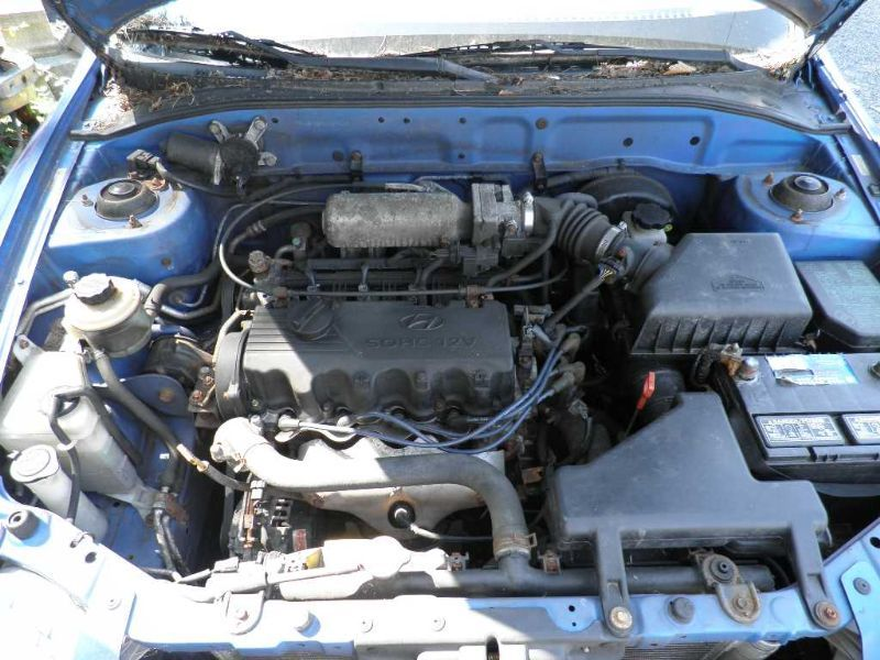 2000 Hyundai Accent Cooling And Heating Ac Condenser Mt 1