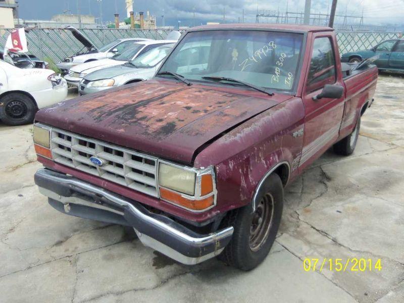 1990 ford truck bronco-ii suspension-steering bronco ii steering column |  238 XLT,KEY,5SP,GRY,PLAIN