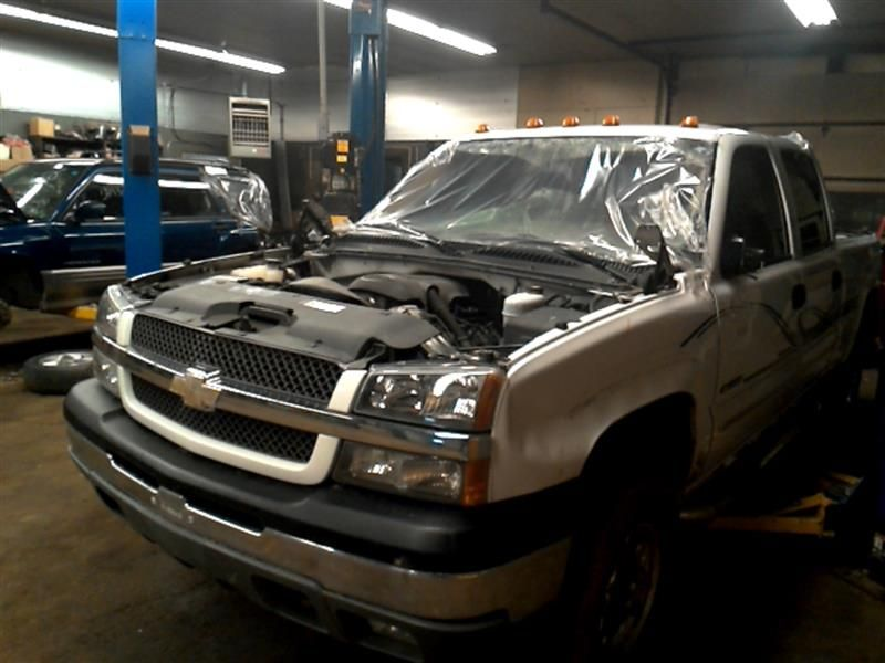 2004 Chevrolet Truck Silverado 3500 Pickup Interior 257 Speedomet