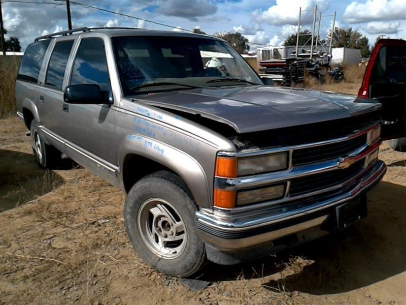 1999 chevrolet truck suburban 2500 rear quarter panel assembly left back door wheel lip