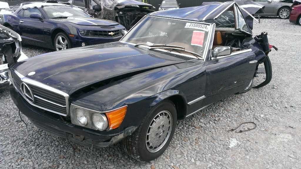 1985 Mercedes Benz 380sl Electrical Blower Motor 107 Type