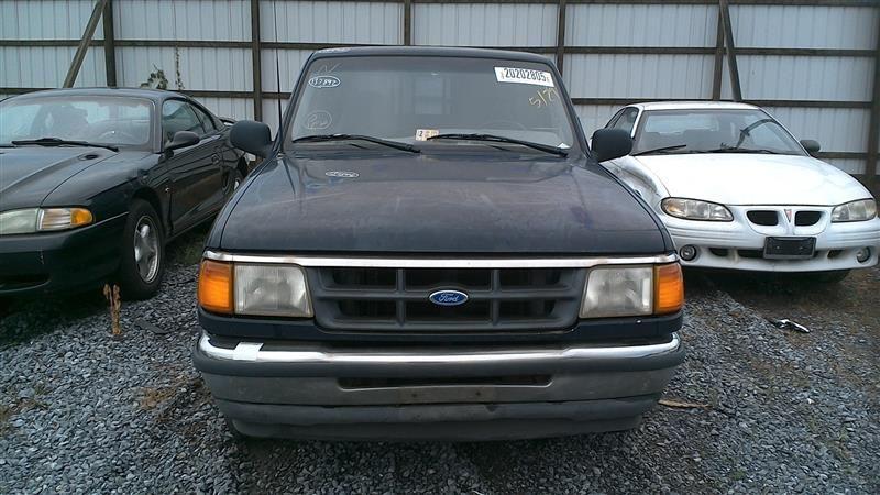 1990 ford truck bronco-ii suspension-steering bronco ii steering column 238 DELAY BLACK W-KEY