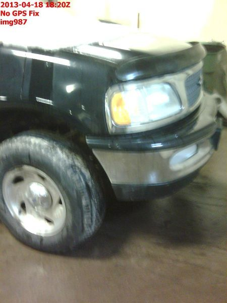 1997 ford truck ford f150 pickup front body radiator core support    109 XLT,4X4,4.6L,AT