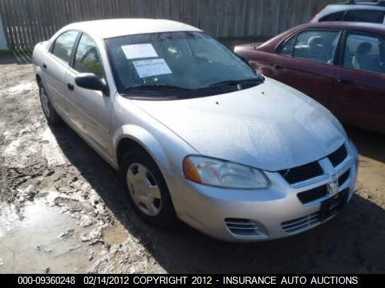 2004 dodge stratus front-body stratus front  clip  assembly |  100 SLV,4DR,-105, 117