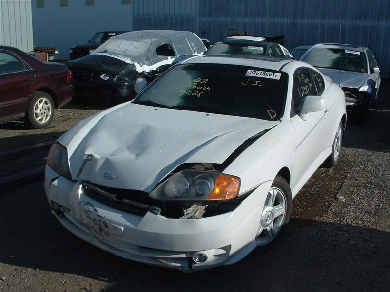 2003 hyundai tiburon electrical tiburon tail lamp |  166 WHITE,2 DR HTBK,