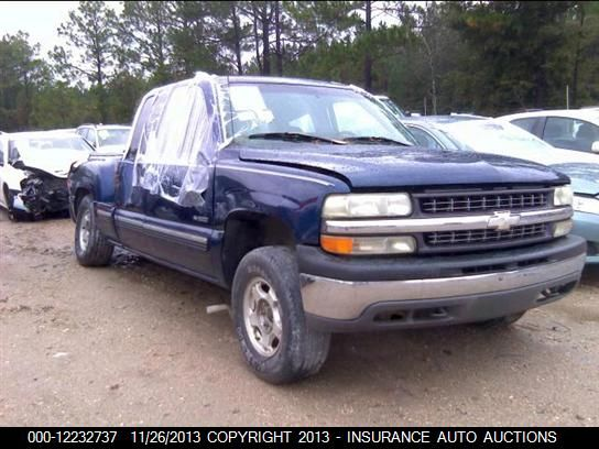 2002 Chevrolet Truck Silverado 1500 Pickup Lights Tail