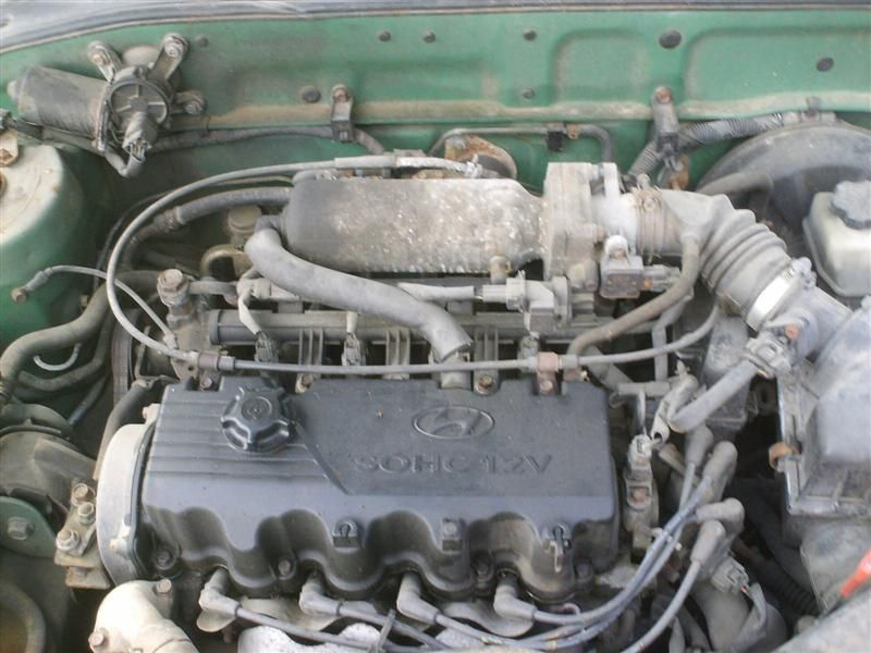 2000 hyundai accent engine accent engine assembly |  300 1.5L,AT,1/00,MFI,GRN-GG,180 COMP