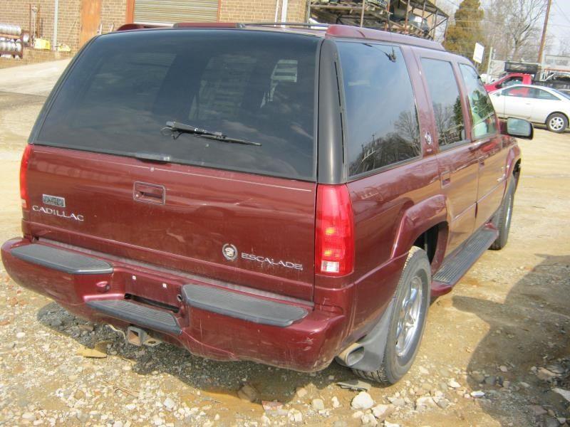 Used 2000 Cadillac Escalade Rear Body Escalade Decklid ...