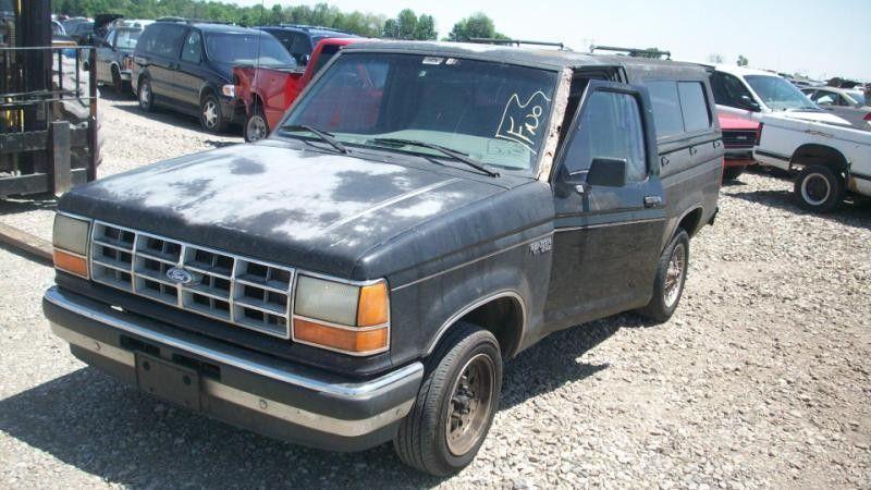 1990 ford truck bronco-ii suspension-steering bronco ii steering column |  238 BLK,D,5SP,W/KEY