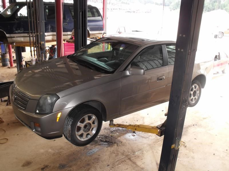 2003 cadillac cts suspension-steering cts spindle knuckle  front |  515 3.2L,RWD