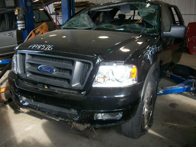 2004 ford truck f150 front-body f150 headlamp assembly 114 LH -A- MNR PITS IN LENSE