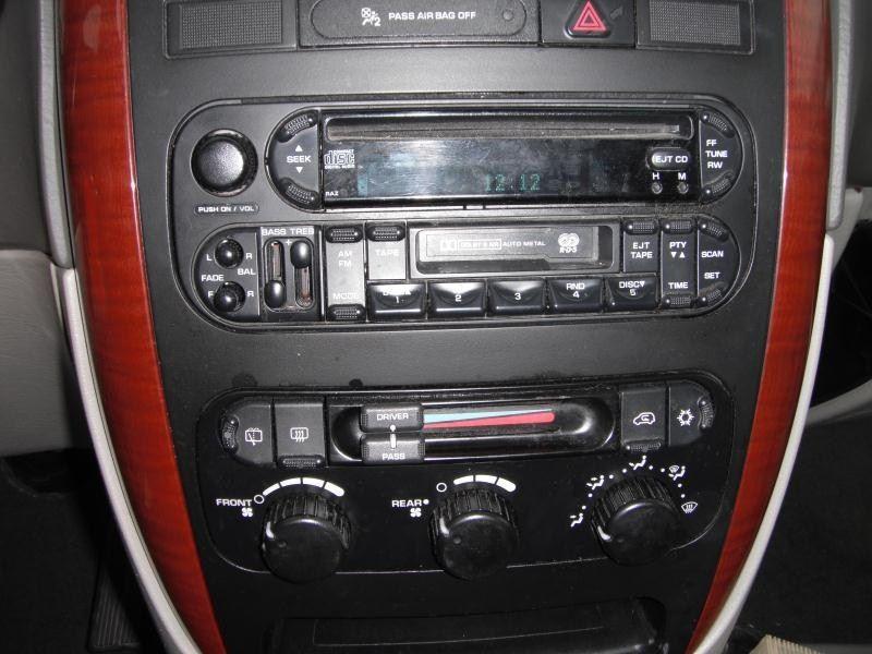 2005 dodge truck caravan entertainment radio audio recvr  sat 638 4DR-LX,BLU,6/06, SAT MODULE