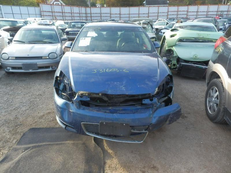 2006 chevrolet impala rear-body impala quarter panel assembly    160 RH,4DR,BLU-703J,REAR HALF