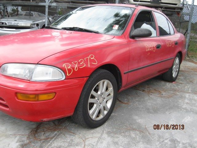 1993 general motors   foreign geo-prizm doors geo prizm door assembly  front |  120 RED,MTM,MM,PAINT-FADED