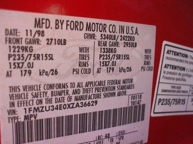 1997 ford explorer engine timing cover 6 245  4 0l   sohc 308 RED,XLT,4.0L,12-10