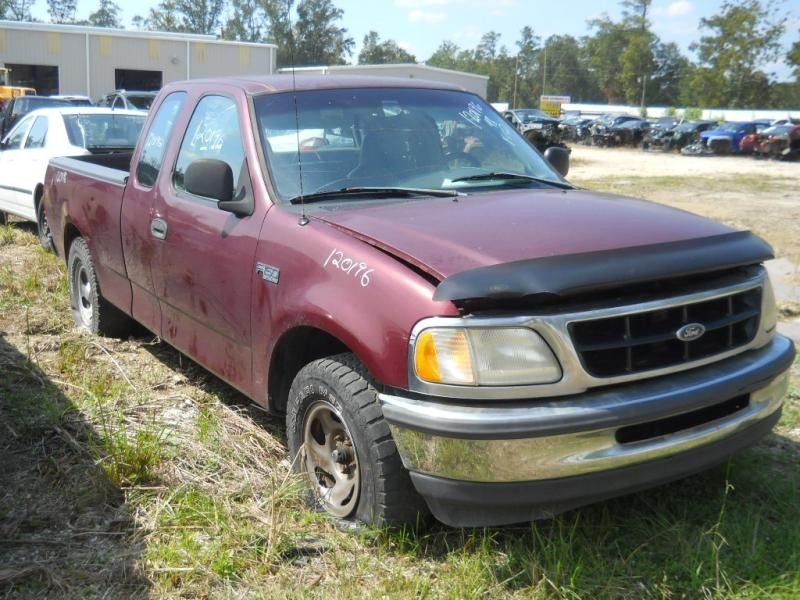 1997 ford truck ford f150 pickup front body radiator core support 109 4.2,AT,2WD