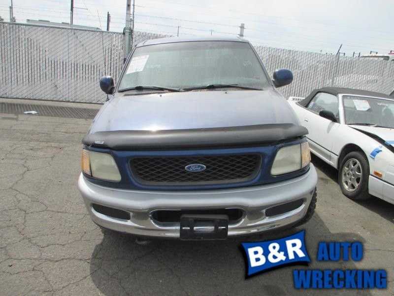 1997 ford truck ford f150 pickup front body radiator core support 109 XCLB4X4,BLU