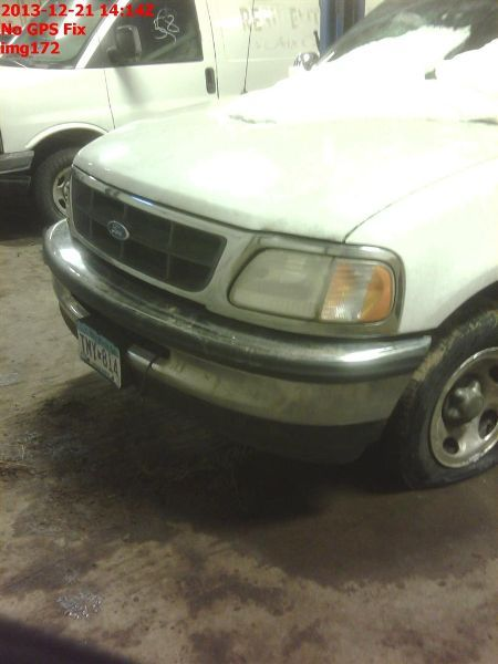 1997 ford truck ford f150 pickup front body radiator core support |  109 RWD,4.6L,AT