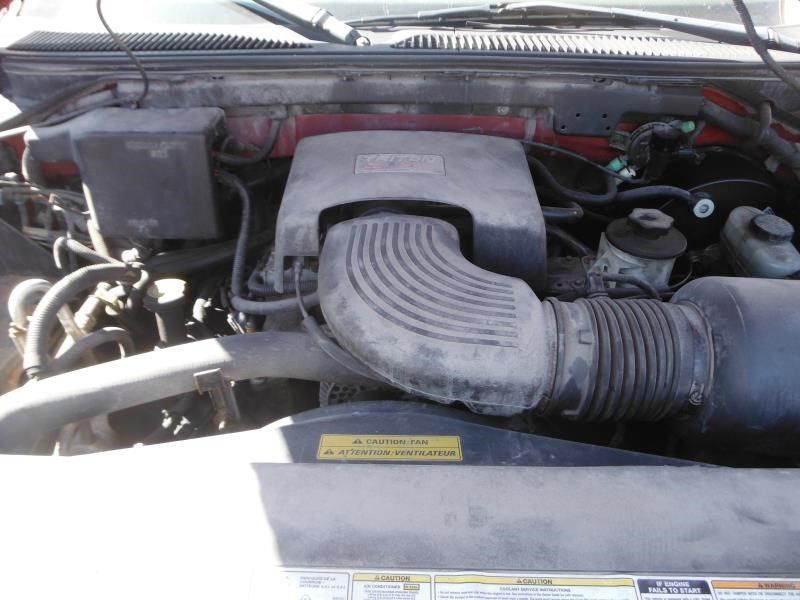 1997 ford truck ford f150 pickup front body radiator core support |  109 RD 4DR 4X4 5.4L, *100