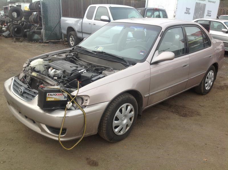 2001 Toyota Corolla Interior 257 Corolla 257 61537c Speedometer H