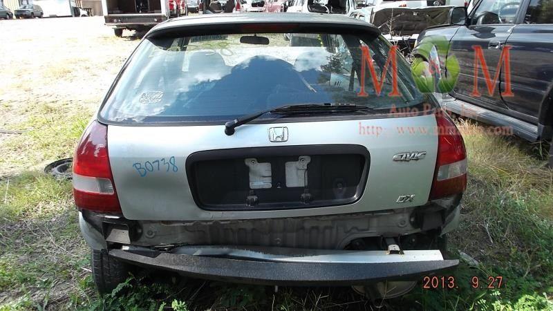 2000 Honda Civic Del Sol Interior 202 Seat Front 202 52010cr Rig