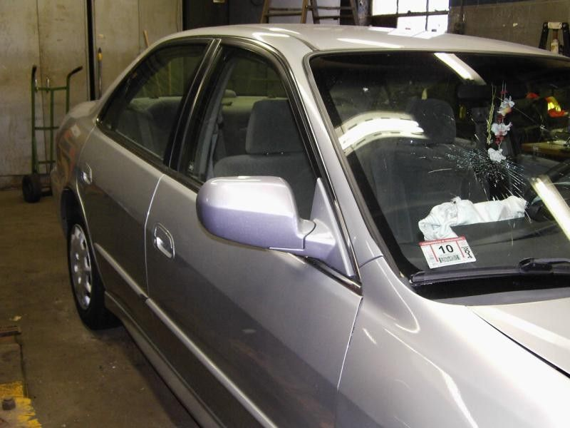 Used 2002 Honda Odyssey Glass And Mirrors Interior Rear