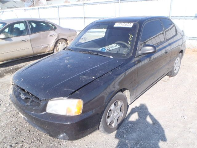 2000 hyundai accent engine accent engine assembly |  300 2DR,BLK,1.5L,MT,RUNS GOOD NOTE