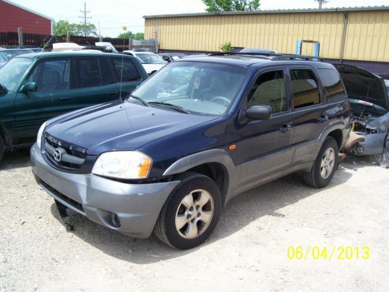 2001 mazda mazda-tribute rear-body mazda tribute bumper assembly  rear 190 POSS.INNERS ONLY