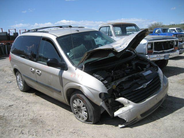 2005 dodge truck caravan entertainment radio audio recvr  sat 638 5064074AC